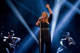 Leanne takes first UK Voice title