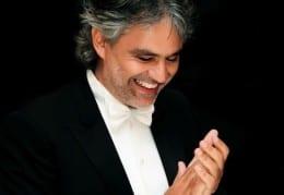 Andrea Bocelli - 2014 Dates