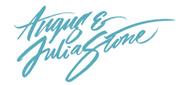Angus and Julia Stone's logo to promote their new album and title track SNOW