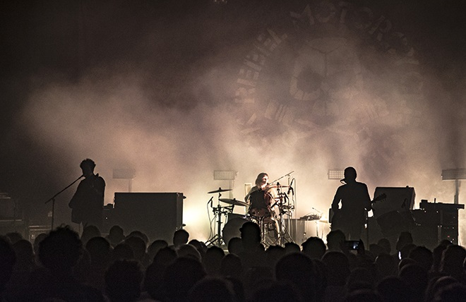 On An Insanely Thursday Evening In North London Californian Garage Rock Band Black Rebel Motorcycle Club Played An Outstanding 2hr 15 Minute Set At The