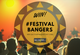 WIN! Ticketmaster Gift Card Festival Bangers