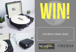 WIN! Retro Briefcase Turntable Giveaway