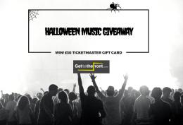 Halloween music giveaway