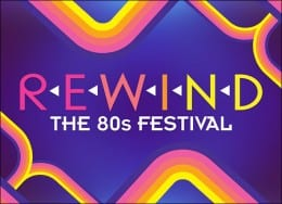 REWIND 2015: The 80s Festival announces 3 UK festival Line-Ups