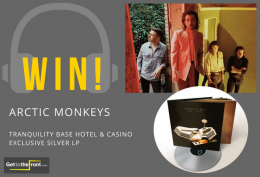 WIN! Arctic Monkeys New Album Silver Edition