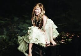 Avril Lavigne for Fan Participation