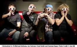 Two hops in the UK for Chickenfoot