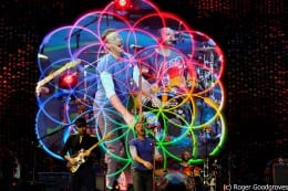 Coldplay get extra support at Kensington Palace gig