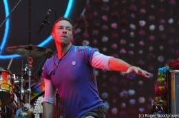 Coldplay set Wembley alight with colour