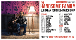 The Handsome Family announce 2017 tour