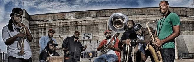 hot 8 brass band