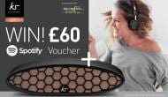 Win! Win! Win .. KitSound Speaker & Headphones + £60 Spotify Voucher
