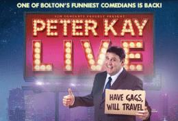 Peter Kay Live 2018/ 2019 Tour - Extra Dates
