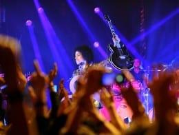 Prince & 3RDEYEGIRL Ignite Koko for Autism Rocks