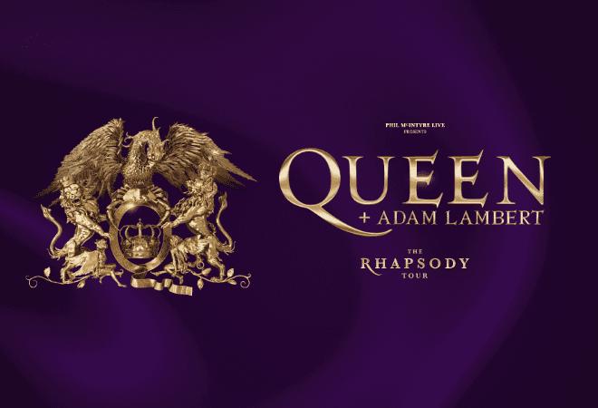 Queen + Adam Lambert The Rhapsody Tour