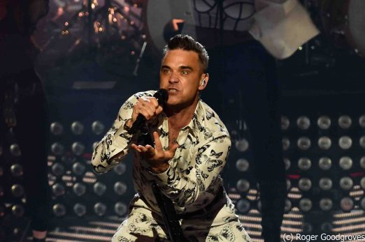 Robbie Williams in concert for The Apple Music Festival  at The Roundhouse, Camden, London, UK -25th September 2016
