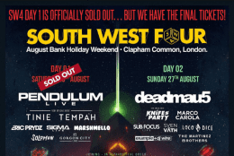 Saturday South West Four Day Tickets