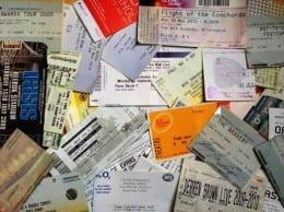 gig tickets