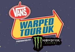 Vans Warped tour announced