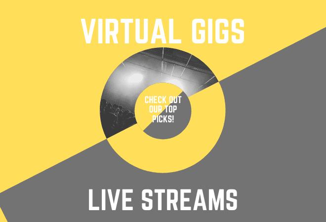 virtual music gigs