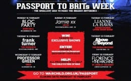 War Child announce Passport acts