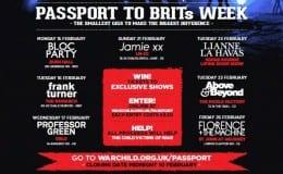 War Child announce Passport acts